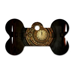 Steampunk 1636156 1920 Dog Tag Bone (two Sides)