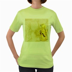 Background 1659622 1920 Women s Green T-shirt by vintage2030