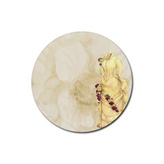 Background 1659622 1920 Rubber Coaster (round)  by vintage2030