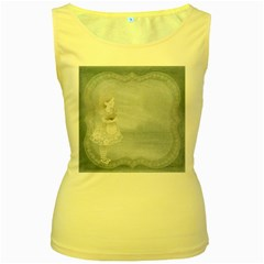 Background 1659631 1920 Women s Yellow Tank Top by vintage2030