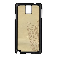 Background 1659638 1920 Samsung Galaxy Note 3 N9005 Case (black) by vintage2030