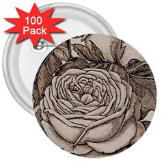 Flowers 1776630 1920 3  Buttons (100 Pack)  by vintage2030