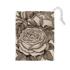 Flowers 1776630 1920 Drawstring Pouch (large) by vintage2030