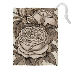 Flowers 1776630 1920 Drawstring Pouch (xxl) by vintage2030