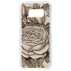 Flowers 1776630 1920 Samsung Galaxy S8 White Seamless Case by vintage2030