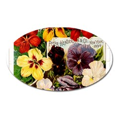 Flowers 1776534 1920 Oval Magnet by vintage2030