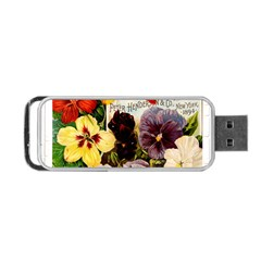 Flowers 1776534 1920 Portable Usb Flash (two Sides) by vintage2030