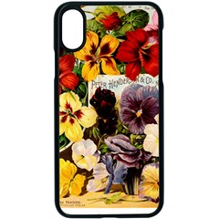 Flowers 1776534 1920 Apple Iphone X Seamless Case (black) by vintage2030