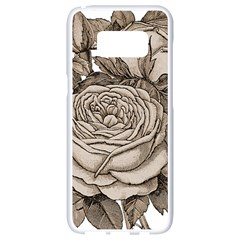 Flowers 1776626 1920 Samsung Galaxy S8 White Seamless Case by vintage2030