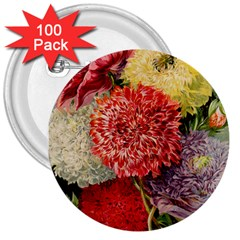 Flowers 1776541 1920 3  Buttons (100 Pack)  by vintage2030