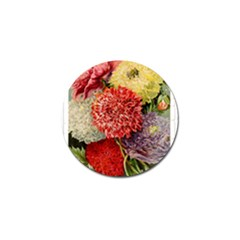Flowers 1776541 1920 Golf Ball Marker (4 Pack) by vintage2030