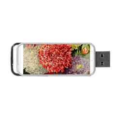 Flowers 1776541 1920 Portable Usb Flash (one Side) by vintage2030