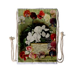 Flowers 1776617 1920 Drawstring Bag (small) by vintage2030