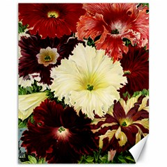Flowers 1776585 1920 Canvas 11  X 14  by vintage2030