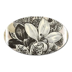 Flowers 1776382 1280 Oval Magnet by vintage2030