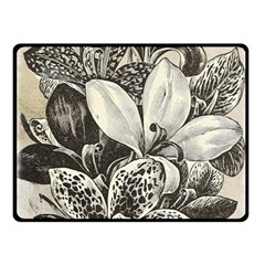Flowers 1776382 1280 Fleece Blanket (small) by vintage2030