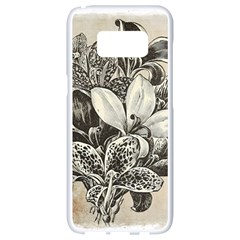 Flowers 1776382 1280 Samsung Galaxy S8 White Seamless Case by vintage2030