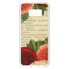 Flowers 1776422 1920 Samsung Galaxy S8 Plus White Seamless Case by vintage2030