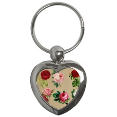 Flower 1770189 1920 Key Chains (heart)  by vintage2030