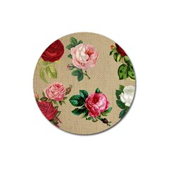 Flower 1770189 1920 Magnet 3  (round) by vintage2030