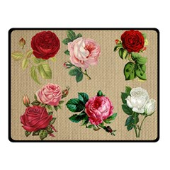 Flower 1770189 1920 Double Sided Fleece Blanket (small)  by vintage2030