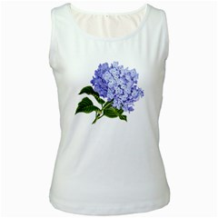 Flower 1775377 1280 Women s White Tank Top by vintage2030