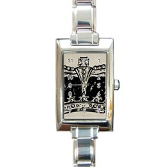 Crown 1515871 1280 Rectangle Italian Charm Watch by vintage2030