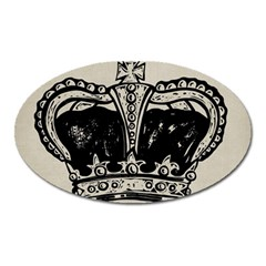Crown 1515871 1280 Oval Magnet by vintage2030