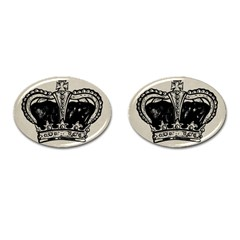 Crown 1515871 1280 Cufflinks (oval) by vintage2030