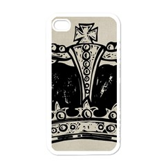 Crown 1515871 1280 Apple Iphone 4 Case (white) by vintage2030