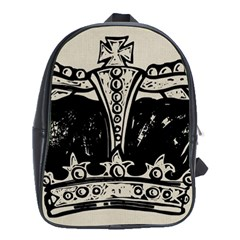 Crown 1515871 1280 School Bag (xl) by vintage2030
