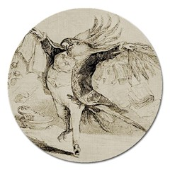Bird 1515866 1280 Magnet 5  (round) by vintage2030