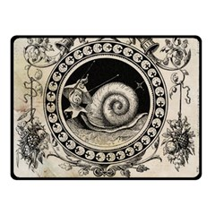 Snail 1618209 1280 Double Sided Fleece Blanket (small)  by vintage2030