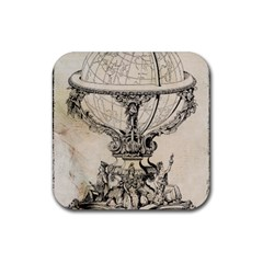 Globe 1618193 1280 Rubber Coaster (square)  by vintage2030
