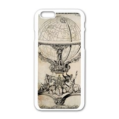 Globe 1618193 1280 Apple Iphone 6/6s White Enamel Case by vintage2030