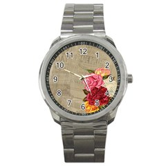 Flower 1646069 1920 Sport Metal Watch by vintage2030