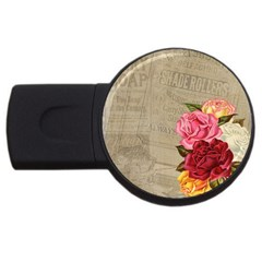 Flower 1646069 1920 Usb Flash Drive Round (4 Gb) by vintage2030
