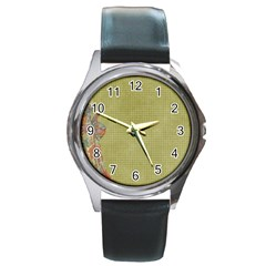 Background 1619142 1920 Round Metal Watch by vintage2030