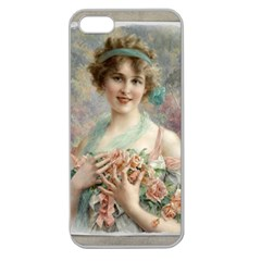 Vintage 1501577 1280 Apple Seamless Iphone 5 Case (clear) by vintage2030
