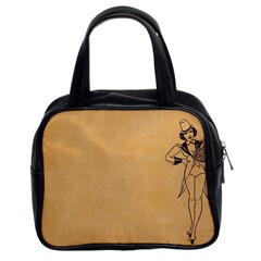 Flapper 1515869 1280 Classic Handbag (two Sides) by vintage2030