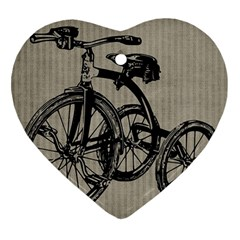 Tricycle 1515859 1280 Ornament (heart) by vintage2030