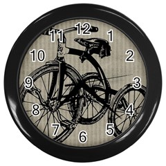 Tricycle 1515859 1280 Wall Clock (black) by vintage2030