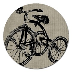 Tricycle 1515859 1280 Magnet 5  (round) by vintage2030