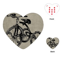 Tricycle 1515859 1280 Playing Cards (heart) by vintage2030