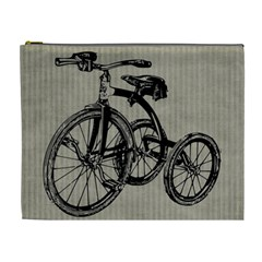 Tricycle 1515859 1280 Cosmetic Bag (xl) by vintage2030