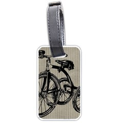 Tricycle 1515859 1280 Luggage Tags (two Sides) by vintage2030