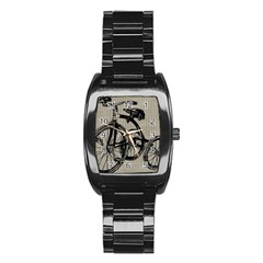 Tricycle 1515859 1280 Stainless Steel Barrel Watch by vintage2030