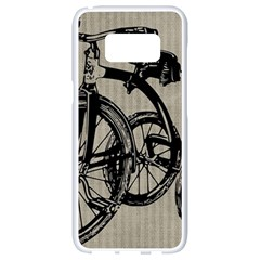 Tricycle 1515859 1280 Samsung Galaxy S8 White Seamless Case by vintage2030
