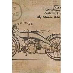 Motorcycle 1515873 1280 5 5  X 8 5  Notebook by vintage2030