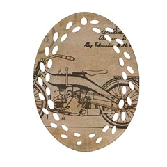 Motorcycle 1515873 1280 Ornament (oval Filigree) by vintage2030
